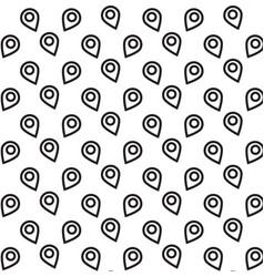 location icon background vector image