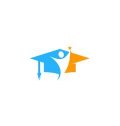 People education logo icon design vector