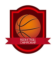Sport emblem design vector