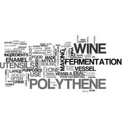 Wine utensils text word cloud concept vector