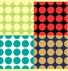 abstract seamless geometric pattern of triangles vector image vector image