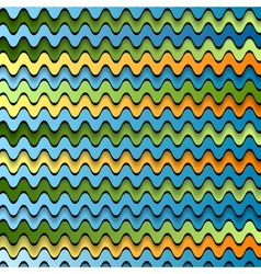 Abstract colorful waves vector