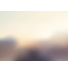 Abstract landscape of view brown color gradient vector