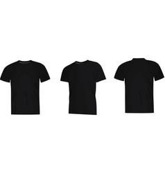 black man classice shirt vector image