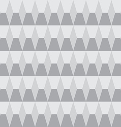 Grayscale seamless pattern geometric vector