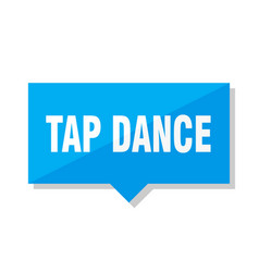 tap dance price tag vector image