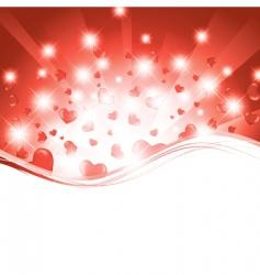 valentine template vector image