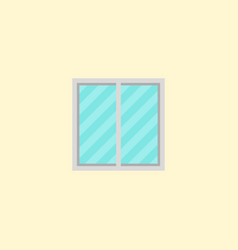 window icon flat element of vector image