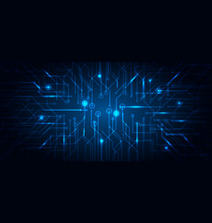abstract technology futuristic concept electronic vector image