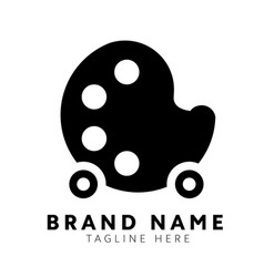 Art logo design vector