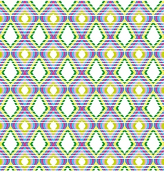 Brightly colored stripe pattern vector image vector image
