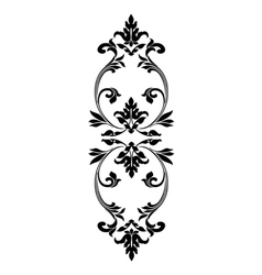 Gothic ornament Decorative vintage elements vector image