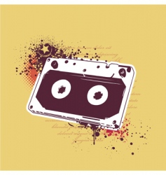 grunge tape vector image