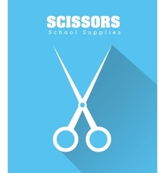 Scissor icon design vector image