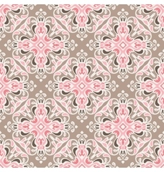 Seamless abstract tiled pattern vector