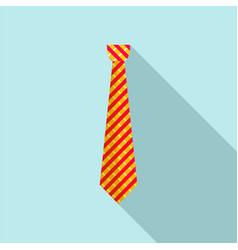 Work tie icon flat style vector