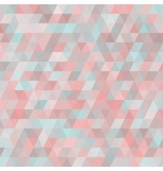 Geometric background with triangles Random colors vector image
