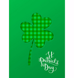 greeting card banner poster etc with saint vector image