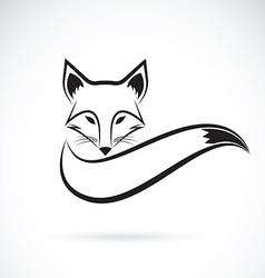 Fox design vector image vector image