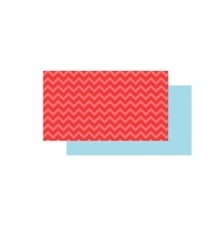 Business card template flat vector image