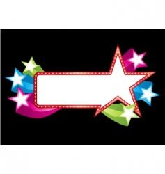 pop banner vector image vector image