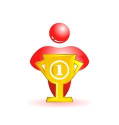 Social people icon vector image vector image