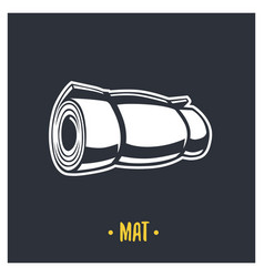 mat vector image vector image