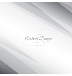 abstract gray minimal background design vector image