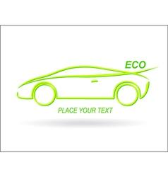 Car ECO vector