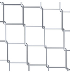chain link fence background industrial style vector image