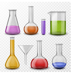 Chemical background laboratory experiment vector