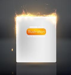 Flaming Ornament Design vector