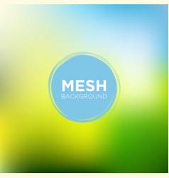 mesh background in lime blue color palette vector image