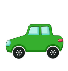 Minicar icon cartoon style vector