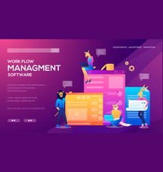 templates design for online shopping analytics vector image