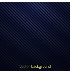 Abstract dark blue striped background vector image vector image