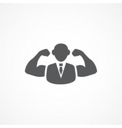 Confidence icon vector image