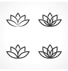 Lotus symbol vector