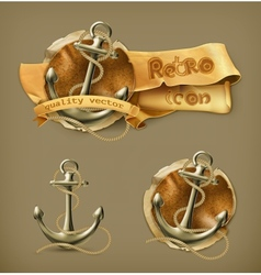 Anchor 10eps vector image