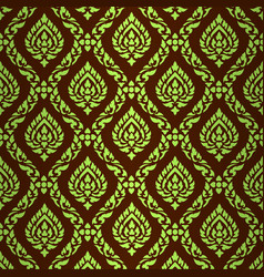 Asian art pattern vector