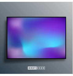 Colorful gradient texture background for screen vector