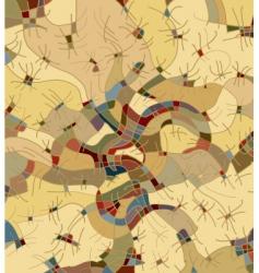 decorative structure vector image