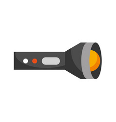 flash lantern isolated icon vector image vector image