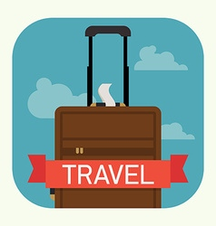 Hand Luggage vector image