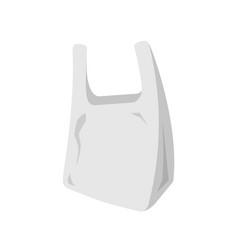 plastic bag icon vector image