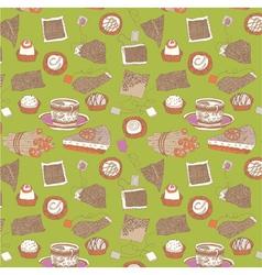 sweet wallpaper vector image