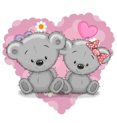 Two Bears vector