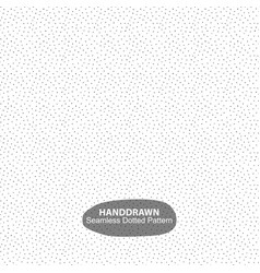 draawing dotted pattern - seamless vector image