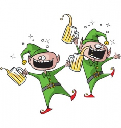 party elves vector image