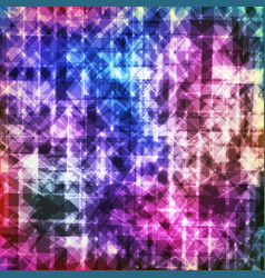 Abstract colorful geometric modern background with vector